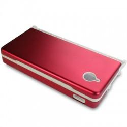 Coque alu rouge pour console Nintendo DSI