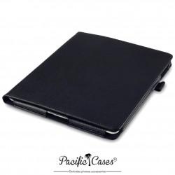 étui pour iPad 2/3/4 noir fonction stand