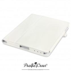 étui pour iPad 2/3/4 blanc fonction stand
