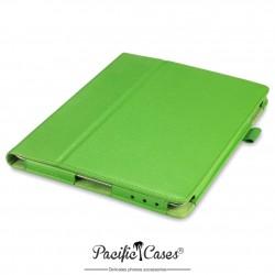 étui pour iPad 2/3/4 vert clair fonction stand