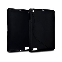 Coque noire gel pour iPad 2