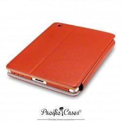étui pour iPad 2/3/4 orange deux positions
