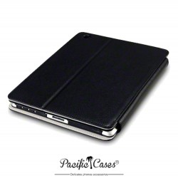 étui pour iPad 2/3/4 noir deux positions