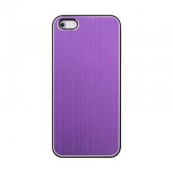 Coque aluminium violet pour iPhone 5