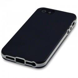 Coque noire avec bumper iPhone 5