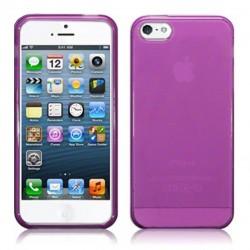 Coque violette translucide pour iPhone 5