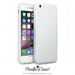 Coque gel pour iPhone 6 blanc brillant