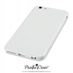 Coque gel pour iPhone 6 Plus blanc brillant de Pacific Cases