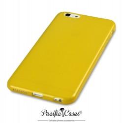Coque gel pour iPhone 6 Plus jaune transparent de Pacific Cases