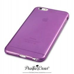 Coque gel pour iPhone 6 Plus violet transparent de Pacific Cases