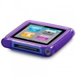 Coque gel violet pour lecteur MP3 Nano 6