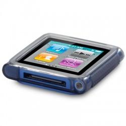 Coque gel noir fumé pour lecteur MP3 Nano 6