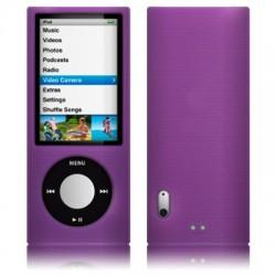 Coque silicone violet pour iPod Nano 5
