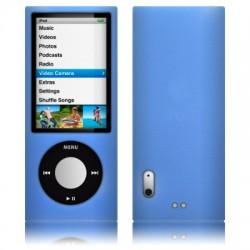 Coque silicone bleu pour iPod Nano 5