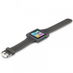 Bracelet montre gris pour Apple Nano 6