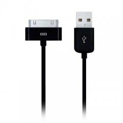 Câble USB noir pour iPod, iPhone et iPad