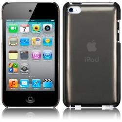 Coque cristal noir fumé pour iPod Touch 4