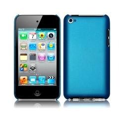 Coque rigide bleue pour iPod Touch 4