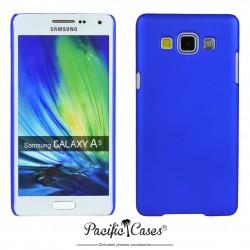 Coque pour Samsung A5 touché gomme marque Pacific Cases® - bleu