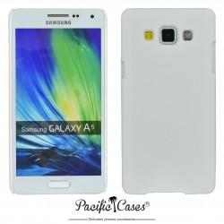 Coque pour Samsung A5 touché gomme marque Pacific Cases® - blanc
