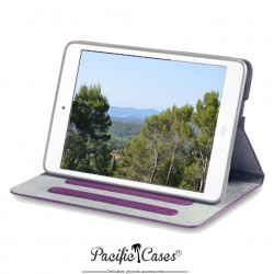 étui pour iPad Mini pourpre fonction stand marque Pacific Cases®