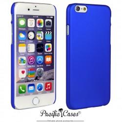 Coque pour iPhone 6  rigide touché gomme par Pacific Cases - bleu marine
