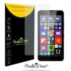 Film de protection écran en verre trempé pour Microsoft Lumia 640