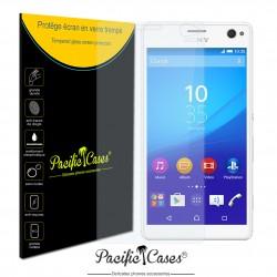 Film de protection écran en verre trempé pour Sony Xperia C4