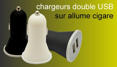 chargeurs allume cigare